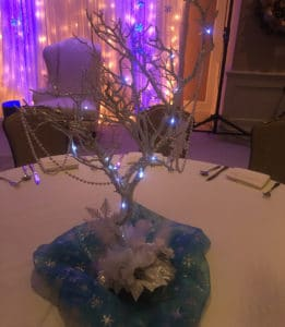 Winter Wonderland centerpiece
